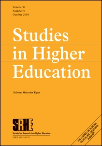 Studies in Higher Education